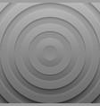 circle futuristic banner with drop shadows vector image