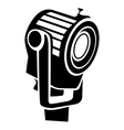 Floodlight icon in simple style vector image