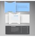 design element 3d set banners vector image