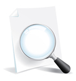 Reviewing a Document vector image