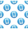 Smartphone sign pattern vector image