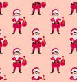 cute santa kids wearing christmas costumes vector image
