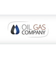 Logo for Oil Gas industry vector image