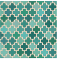 seamless cross islamic pattern vector image vector image