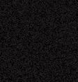 Black Pixelated Texture vector image