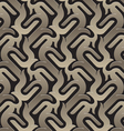 brown pattern seamless vector image