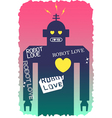 Robot Love vector image