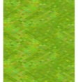 Pixelated green grass in isometric view seamless vector image