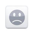 white smile icon Eps10 Easy to edit vector image