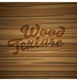 Texture of wood background vector image vector image