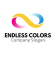 Endless Colors Design vector image