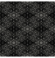 Seamless Texture on Grey Element for Design vector image