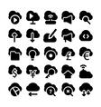 Cloud Computing Icons 3 vector image