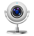 realistic computer web cam vector image