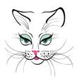 Cute cat vector image vector image