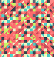 Orange and Blue pattern vector image vector image
