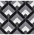 Bohemian Black White Pattern Background vector image