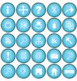technology symbols vector image