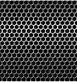Seamless texture metal grid background vector image