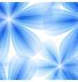 blue floral seamless background vector image