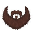 Captains Beard vector image vector image