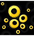 gear wheel2 vector image vector image
