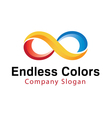 Endless Colors Abstract vector image