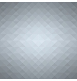 Grey geometric background vector image