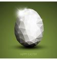 Modern easter egg vector image