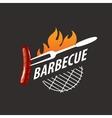 logo barbecue vector image