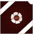 chocolate wrapping design vector image