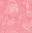 old pink abstract polygon triangular pattern vector image