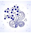 may-lily vector image