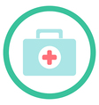medical suitcase vector image