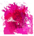 paint spot with splash in watercolour style vector image