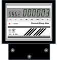 Electronic Energy Meter vector image vector image