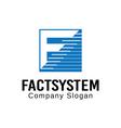 Factsystem Design vector image
