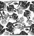Fish skeleton vector image