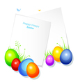 Pic with eggs vector image