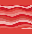 wavy background shades of red vector image