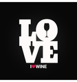 wine concept label background vector image