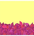 Abstract decorative nature background vector image