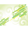 Fantastic abstract design vector image