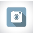 Hipster camera icon vector image