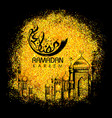 ramadan kareem generous ramadan greetings in vector image