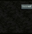 seamless texture of black vector image