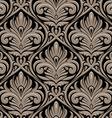 Damasc seamless pattern vector image