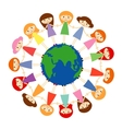 safe the world vector image