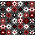 floral daisy pattern vector image