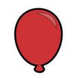 air balloon celebration vector image
